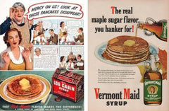 Maple Syrup Advertisement 1950's