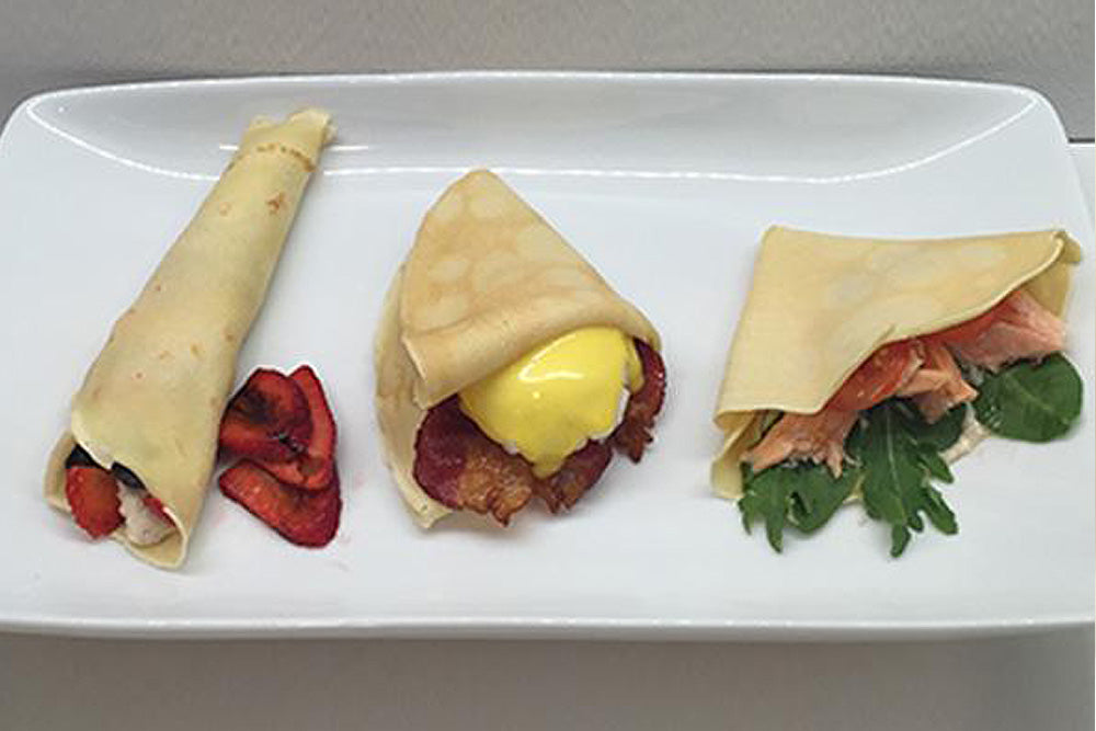 Crepes Three Ways