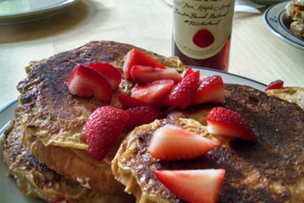 french toast blis bourbon maple syrup