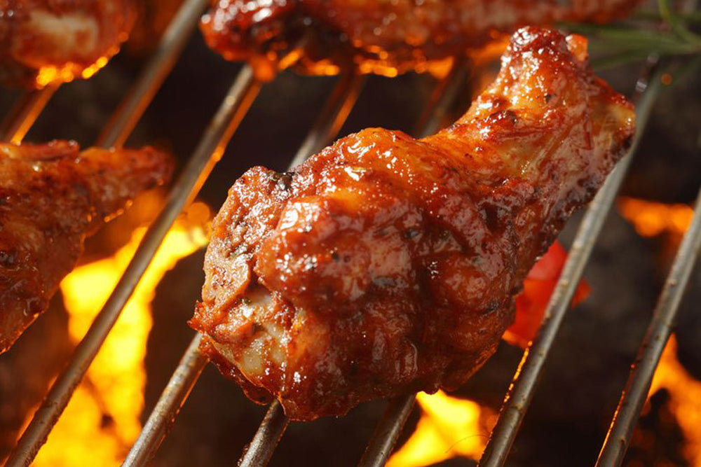 Grilled Chicken Hot Wings