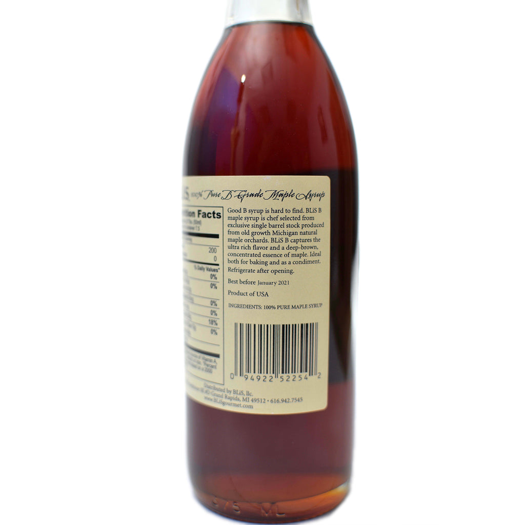 BLiS™ Michigan Grade B Maple Syrup