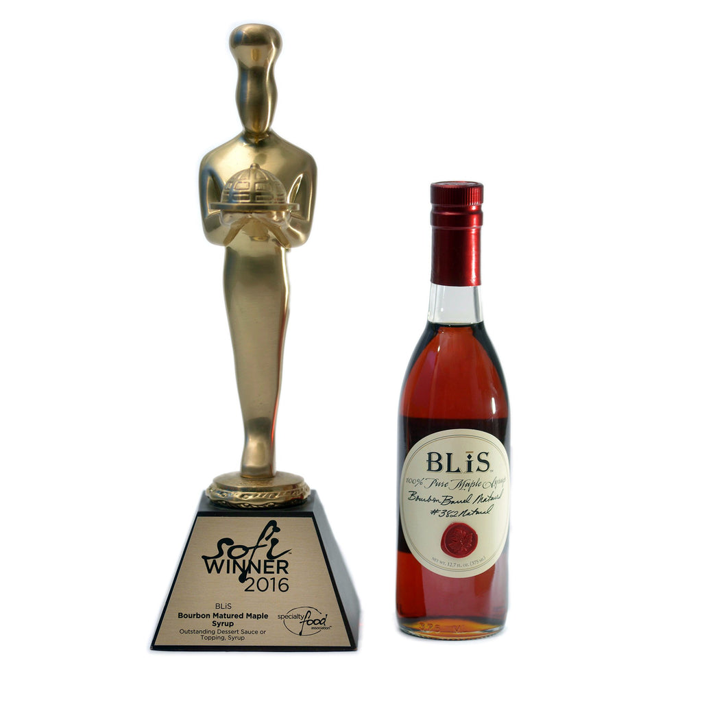 BLiS Bourbon Maple Syrup 2016 Sofi Award