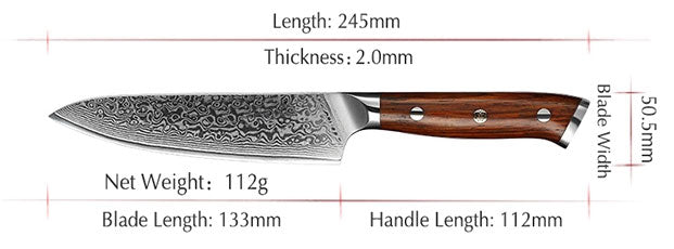 5 inches Utility Chef Knife