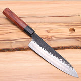 8 inches High Carbon Steel Chef Knife. Wood Handle