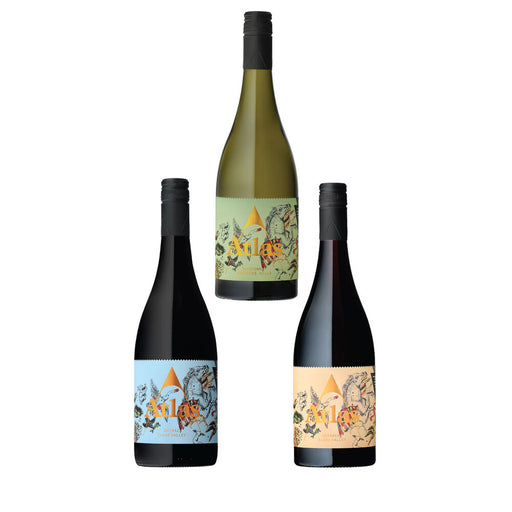 Atlas Wines 3 Bottles