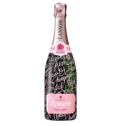 NV Lanson 'Pink Label' Brut Rosé, France