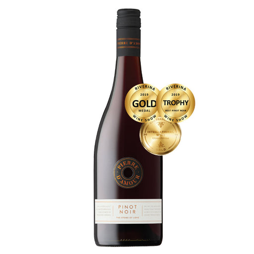 Pierre D'Amour Pinot Noir  2019, Tumbarumba Double Gold Medals