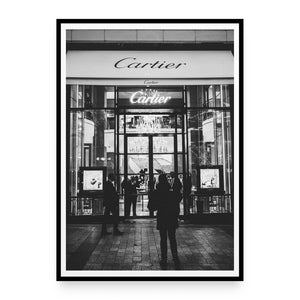 Cartier Store, Paris Plakat