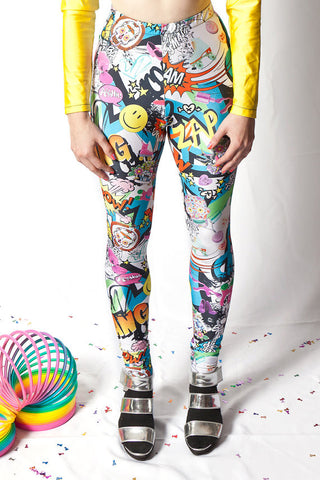 Bam! Pop! Leggings