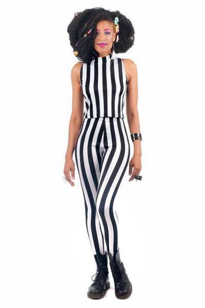 Beetlejuice Turtleneck Crop Top (Medium)