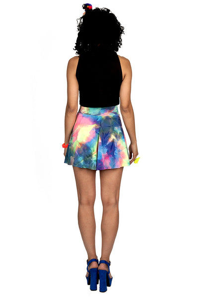 Tie Dye Skater Skirt (Medium)