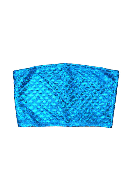 Blue Mermaid Tube Top