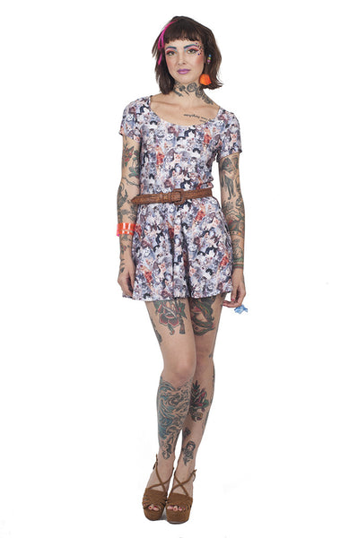 Cats Meow Skater Dress