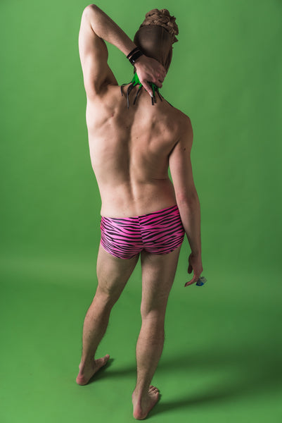 Pink Tiger Mens Speedo Shorts