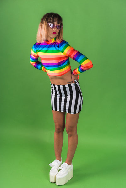 Beetlejuice Mini Skirt (Small)