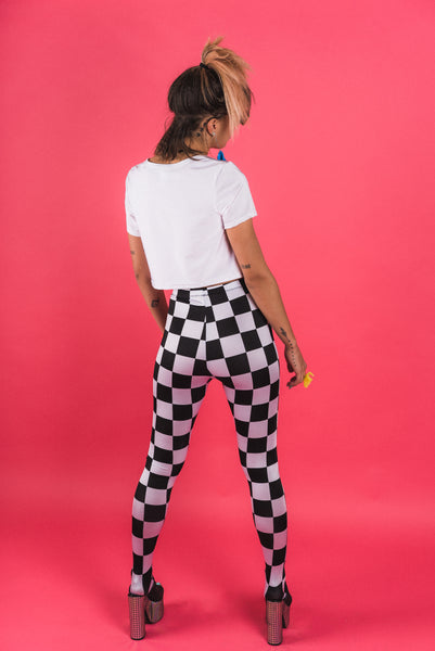 Mod Squad Checker Leggings