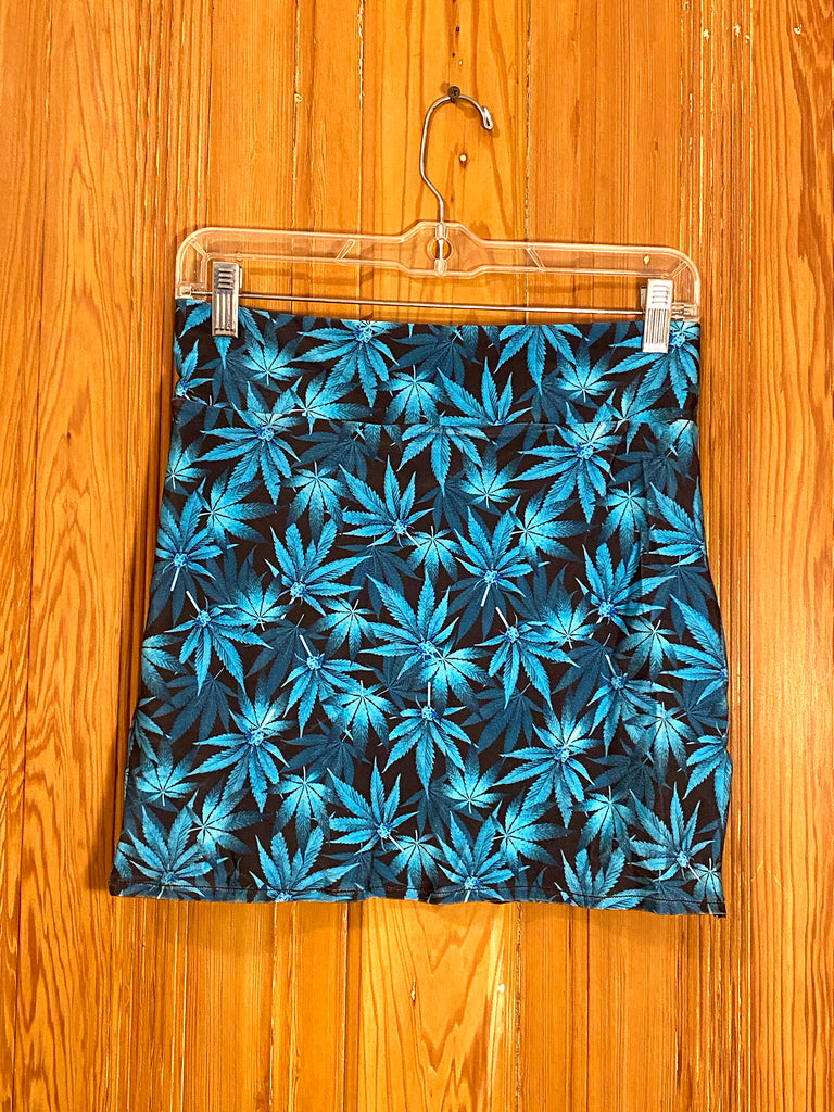 Blue Dream Mini Skirt (Small)