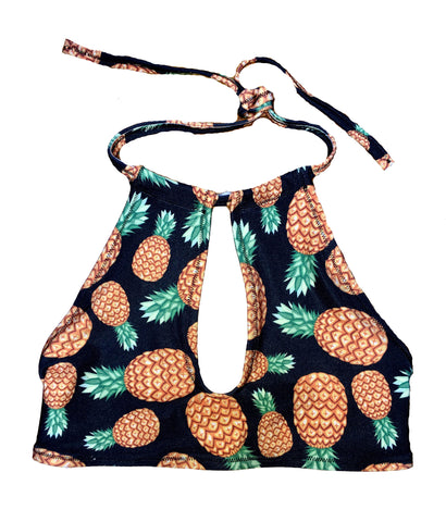 Pineapple Halter Top