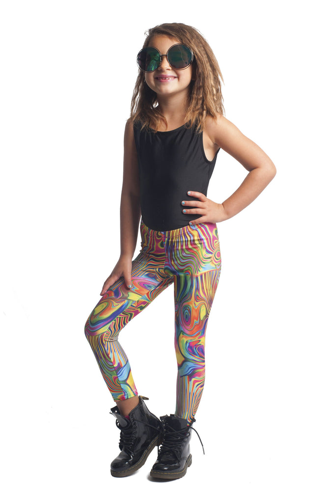 Psychedelic Kids Leggings