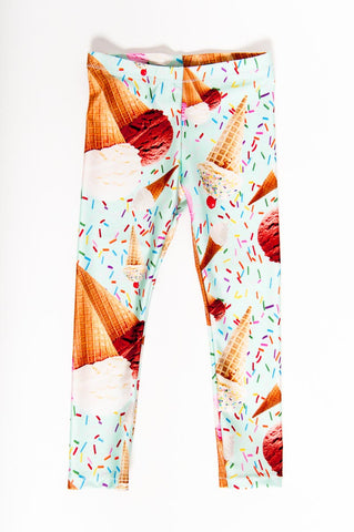 Ice Cream Kids Leggings