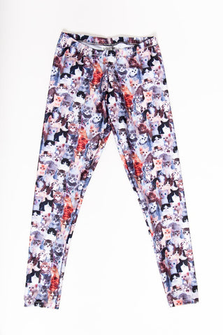 Cats Meow Kids Leggings