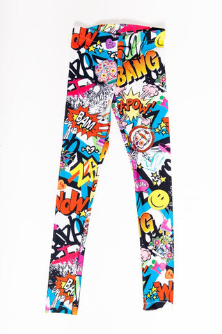Bam! Pop! Kids Leggings