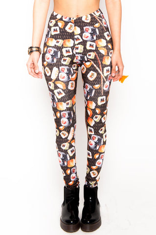 Sushi Roll Leggings (Medium)
