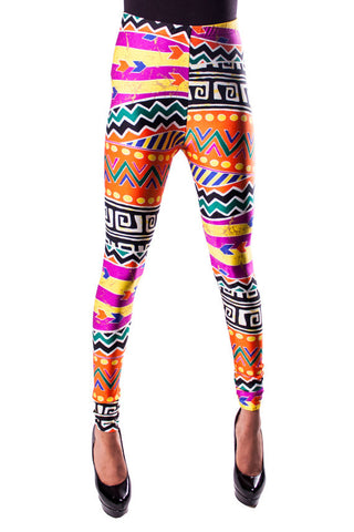 Mazatec Tribal Leggings
