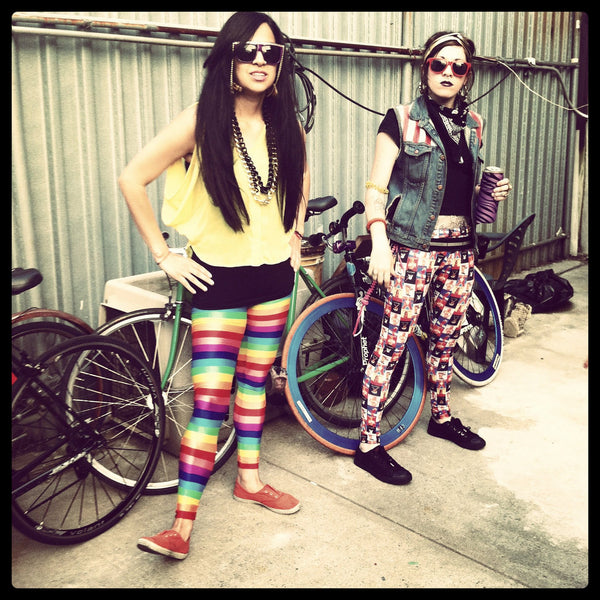Rainbow Brite Leggings