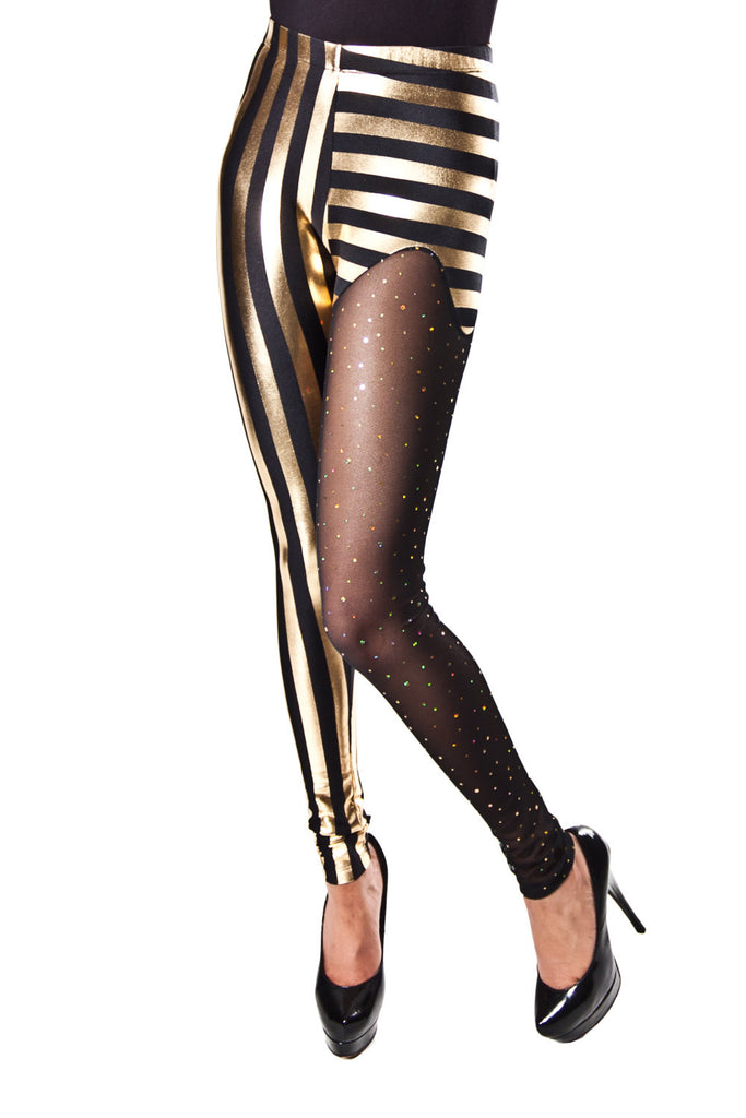 Lobotomy Gold Leggings