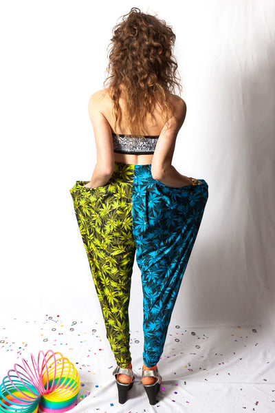 Double Ganja Harem Pants
