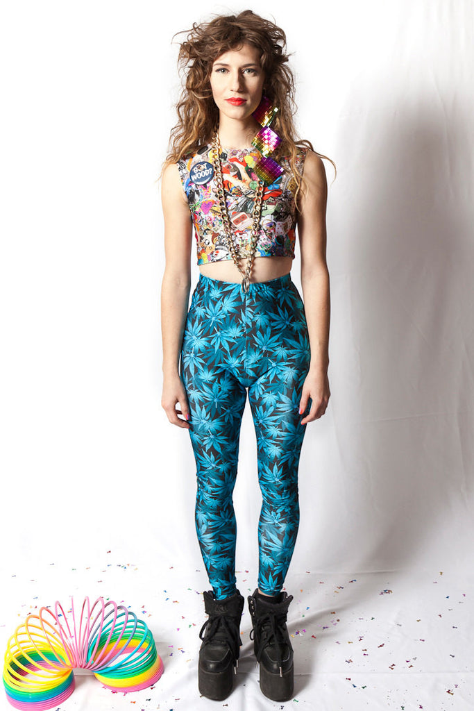 Blue Dream Leggings