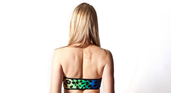 Leopard & Tribal Reversible Bandeau