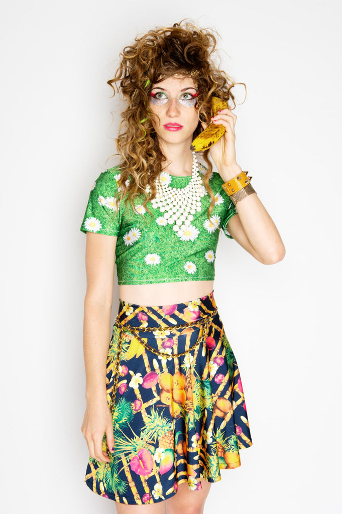 Daisy Fields Crop Top