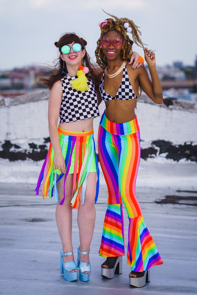 Rainbow Pride Bell Bottoms