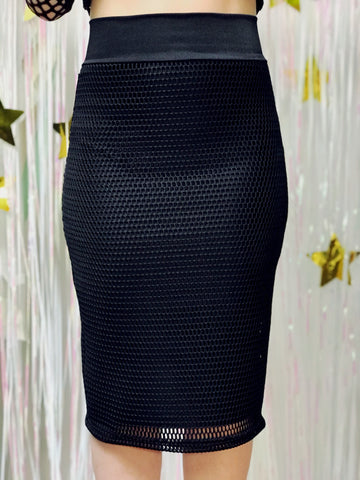 Black Panther Mesh Skirt (XXLarge)