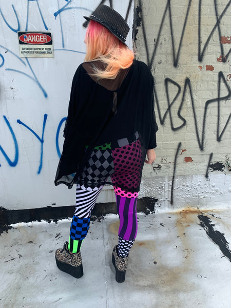 Patchwork Doll Leggings