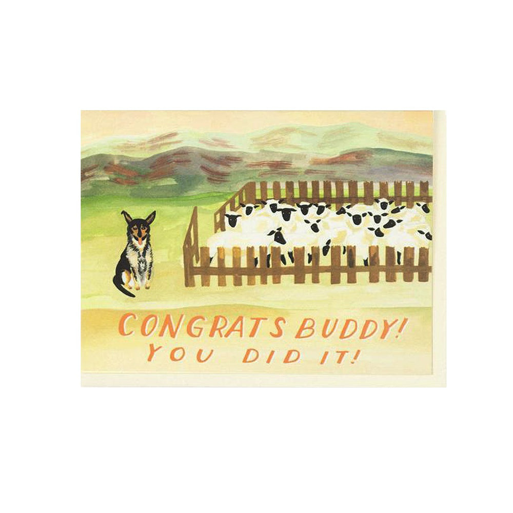 Load image into Gallery viewer, Sheep Dog Congrats