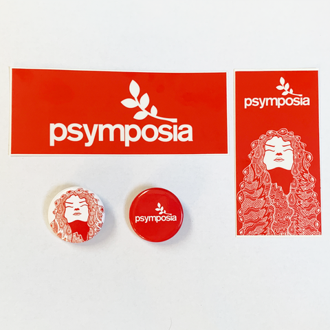 Sticker & Button Pack (1 Each - Free Shipping)
