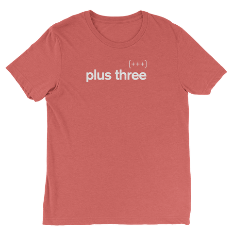 Plus Three Red Tee