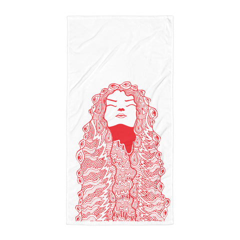 Psymposia Bath Towel