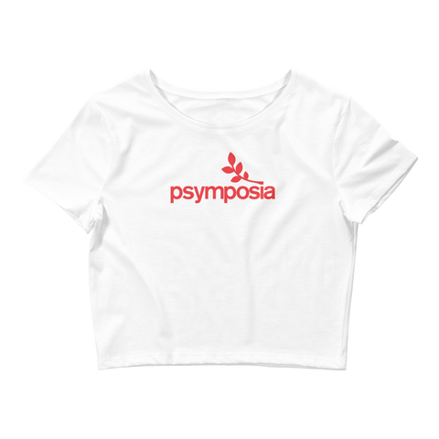 Psymposia Crop Top (White/Black Avail.)