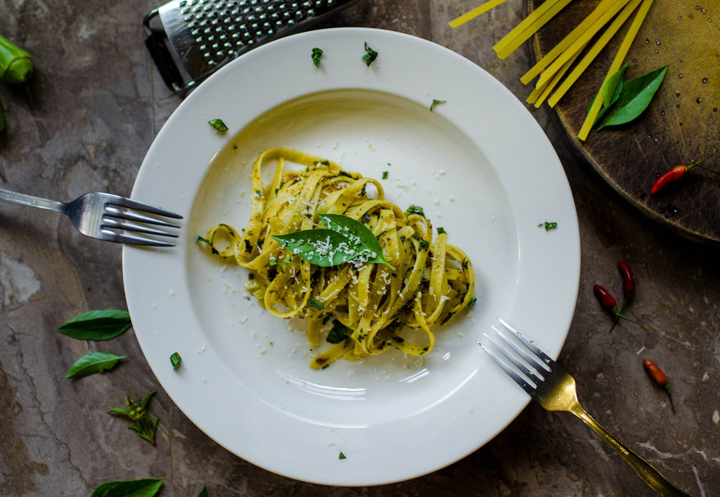 A Plate of Healthy Pasta