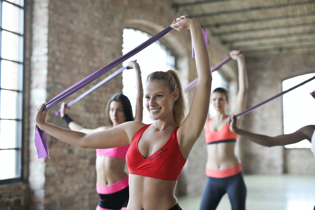 Women Performing Resistance Training
