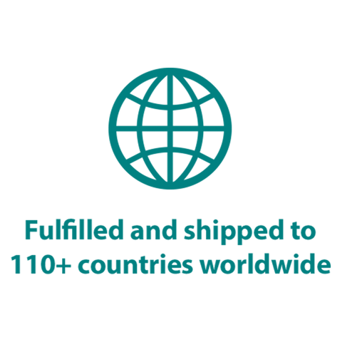 Shipping to 100+ countries