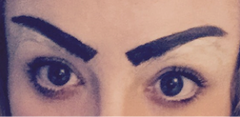 Boom Boom Brow Bar Geisha Brow Halloween Makeup