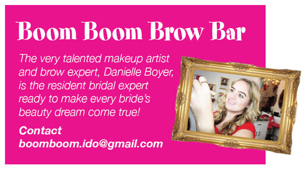 Bridale make up and Brow Shaping To Do List From Boom Boom Brow Bar