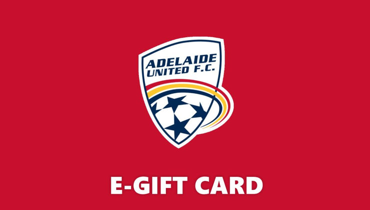 Adelaide United Online Store Gift Card