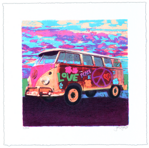 MINI HIPPIE BUS