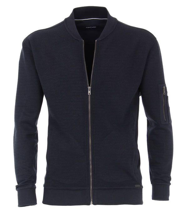 Sweat-shirt jacket Dark Blue